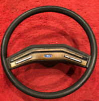 Ford Truck F-150,250, Bronco steering wheel woodgrain cruise control = 80 to 86