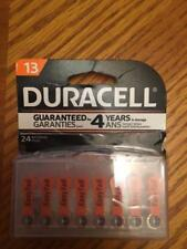 24 Duracell Size 13 Hearing Aid Batteries (with EasyTabs) - Expiration 2020