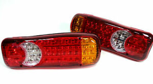 2x 24V Rear Tail LED Lights Lamp Truck fit IVECO SCANIA MAN VOLVO MERCEDES DAF