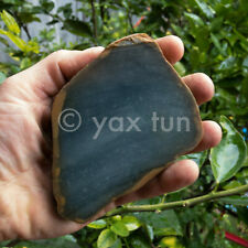Blue Jade Slab from Guatemala for Carving or Cabbing - Jadeite Rough - S0128d