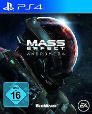 Ps4/Sony PlayStation 4 juego-Mass Effect: Andrómeda de/en con embalaje original