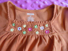 Vguc 5T Gymboree Orange Fall/Thanksgiving/Hallowe en Shirt- Pretty!