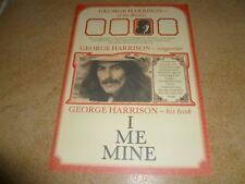 I ME MINE George Harrison BEATLES Genesis Publications Promo Booklet Brochure