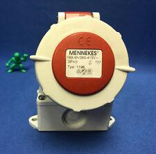 MENNEKES 1196 Marine Industrial Receptacle IP67 3P+E   380-415V