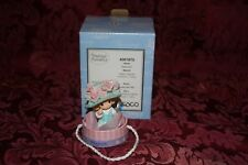 Precious Moments 2004 # 4001875 Avon Hatta Girl! March Month Figurine W/ Box