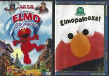 DVD LOT OF 3  SESAME STREET CHILDREN'S VIDEOS