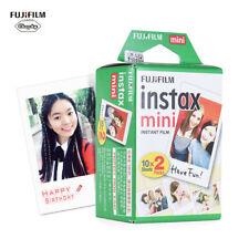 20 PCS Fuji Instax Mini Pellicola Per Fujifilm Mini 8/7s/90/50 telecamere E6F9