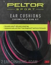 Peltor Sport Ear Cushions, Pink, for Sport RangeGuard and Tactical 100 Earmuffs