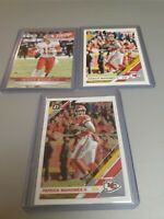 Patrick Mahomes 2019 Donruss,  Donruss Optic And 2019 Prestige.(3 cards) M/NM