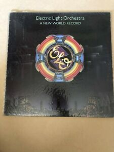 Vintage Vinyl LP Record 1976 - Electric Light Orchestra A New World Order