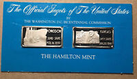 The Official Ingots of the United States, Oregon and Kansas, Silver Bar