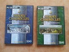 2 x HEROES CHRONICLES  PC WIN 95/98  deutsch  USK 12 #
