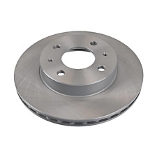 Pair of Front Brake Disc Fits Nissan 100NX AD Cubic Sunny Blue Print ADN14328