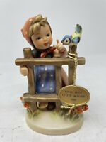 """Hummel by Goebel Signs of Spring 203 2/0 W Germany 1990 TMK6 H4"""" X W3"""" small"""
