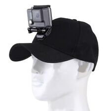 Casquette de baseball avec J-Crochet Boucle Fixation à Vis pour GoPro Caméra d'action Support