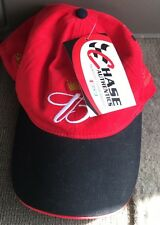 Dale Earnhart Jr. cap hat Chase Nu-Fit Red Budweiser. Nwt