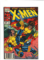Uncanny X-Men #277 FN/VF 7.0 Newsstand Marvel 1991 Jim Lee, Wolverine vs. Gambit