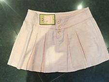 NWT Juicy Couture New & Genuine Ladies Pink Cotton Skirt Size 4 US, UK Size 8/10