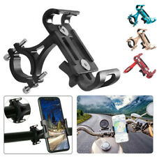 360° Aluminum Motorcycle Bicycle Bike Handlebar Mount Holder Bracket Phone GPS