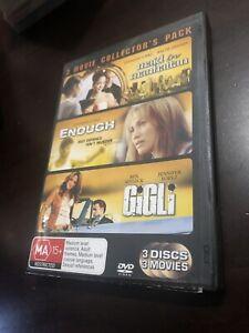 Maid In Manhattan  / Enough  / Gigli (3-Disc Set) Region 4 Dvd