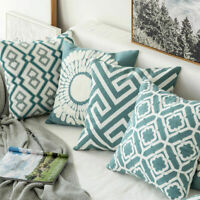 Stripe Pillowcase Cushion Case Home Decoration Cotton Linen Cushion Cover Gift