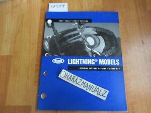 2007 BUELL Lightning Models Official Factory Parts Catalog Book Manual