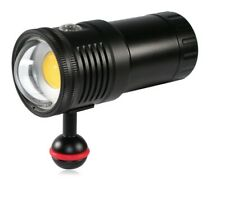 6000 Lumen underwater photographic diving video light   High CRI=90