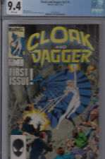 CLOAK & DAGGER V2#1 (July 1985)  CGC 9.4 NM  R.LEONARDI & T. AUSTIN cover & art