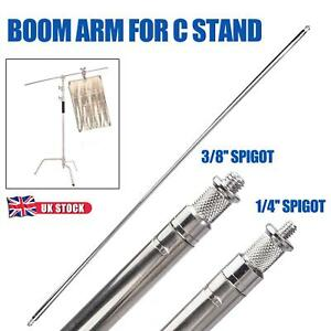Studio Boom Arm 1.27m Metal Heavy Duty C-Stand Light Extension Photo Photography