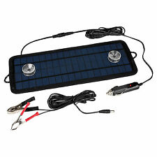 4.5W 12V Volt Cars Boats Motorcycle Battery Charger Solar Powered Panel Trickle