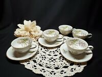 Winterling Bavaria Demitasse Espresso / Turkish Coffee 5 Tea Cups and 3 Saucers