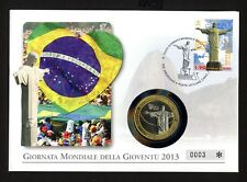 Vatikan 1771 Numisbrief Papst Franziskus Weltjugendtag Rio de Janeiro