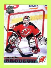 """98-99 PACIFIC PARAMOUNT """"ICE BLUE"""" MARTIN BRODEUR - DEVILS"""