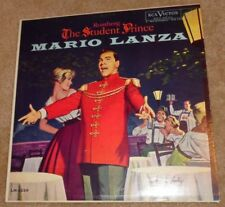 MB913 Mario Lanza Romberg The Student Prince 33-1/3 RPM LP Record