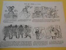 Tous les sports par o'Galop Humour Originale Print 1907