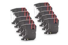 10x Cinta de Impresora Negro Nylon para BROTHER AX25,250,26,28,30,35
