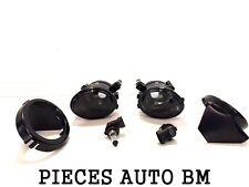 2X Nebelscheinwerfer Vorne M M2 M3 E46 BMW Serie 3 Schale Cabrio Schwarz Fume
