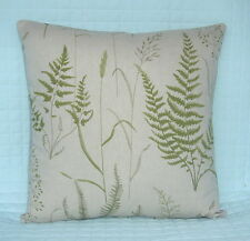 "Shabby Chic Retro Style Cushion Cover/16""x16""/John Lewis FERN FIELD Fabric"