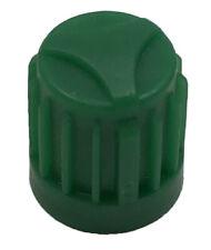 500 VC8 Green Plastic Tire Valve Stem Caps & Seal Bag for N2 Nitrogen Wheel TPMS