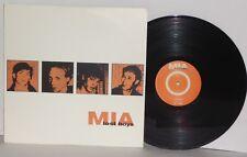 MIA Lost Boys LP Vinyl M.I.A. Hardcore Punk Rock Mike Conley New Left PLAYS WELL