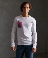 Superdry Mens Japan Code Long Sleeved T-Shirt