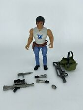 Vintage Coleco Fire Power Rambo Fire-Power Figure, near complete, 1980s
