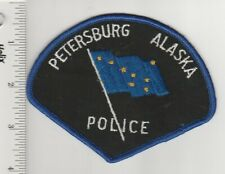 US Police Patch Petersburg Alaska Police Department Old One