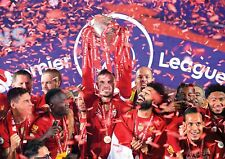 Liverpool FC Poster Premier League Champions 2020 NEW, FREE P+P CHOOSE YOUR SIZE