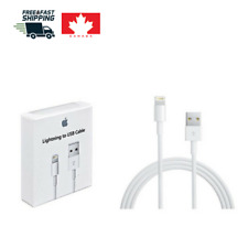 Lightning to USB Charging Cable Charger Apple iPhone 6 5 iPhone 7 8 X iPad