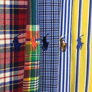 Lot of 5 Men's Ralph Lauren Button Down Shirts Logo Sz:XXL