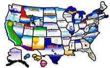 USA sticker travel map, A Road Trip Essential – RV Stickers Travel Map
