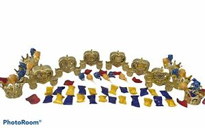 48PC Beauty And The Beast Princess Carriage And Crown Treat Containers Candy Set