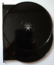 BLACK AMARAY DVD/Blu-ray/4k UHD case Single SWING TRAY (holds 1 disc)