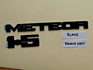 """BRAND NEW - Ford """"METEOR"""" and """"1.5"""" - 2x BLACK Badges for S PACK."""